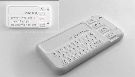 Braille Smart Phone by Sumit Dagar.