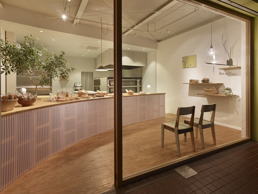 Bread Table by Ar. Keiichi Kiriyama of Airhouse Design Office.