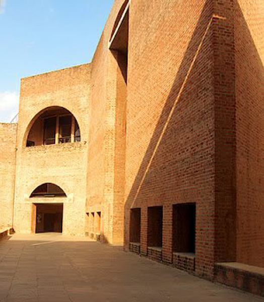 20th century Louis Kahn' IIM-A conservation by Ar. Brinda Somaya.