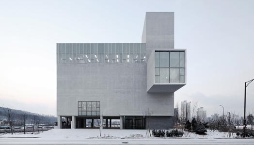 The RW Concrete Church in Seoul, Korea by Nameless Architecture