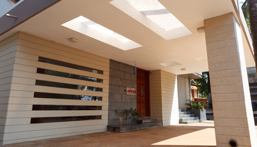 Bungalow in the Konkan region by architecture firm, Designex.