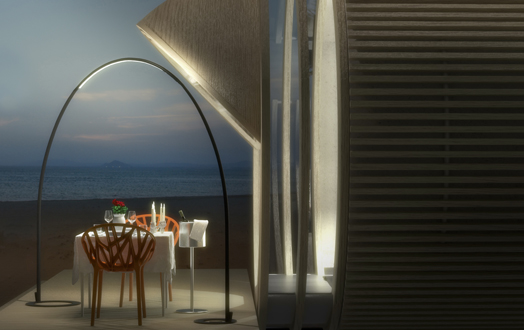 Drop - Eco Hotel by Ricardo Bofill Taller de Arquitectura.
