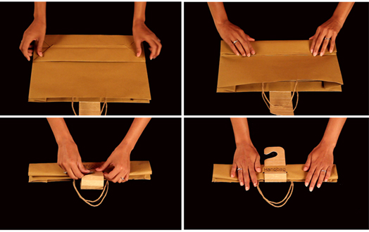 Innovative Hangbag by Parin Sanghvi, Mohit Singhvi and Shruti Gupta of MIT Institute of Design, Pune