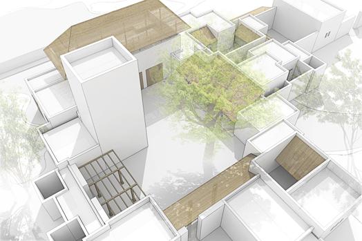 Kalifi family house, designed by Urko Sanchez Architects.