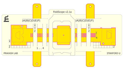 Paper Microscope by Stanford Professor, Manu Prakash.