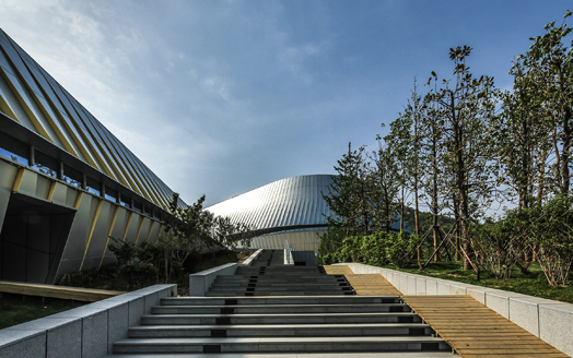 World Horticultural Expo Pavillion in Qingdao City by UNStudio