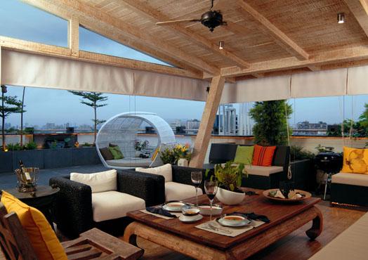 Residence by Interior designer Shabnam Gupta.