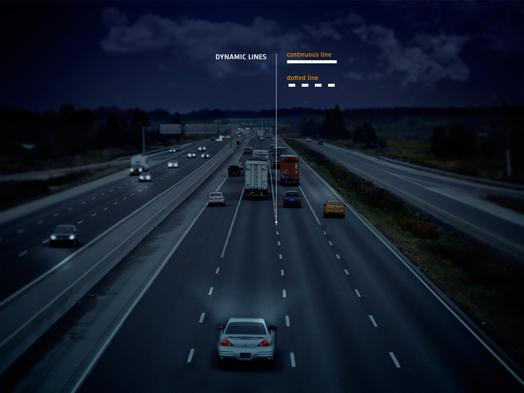Smart Highway by designer Daan Roosegaarde