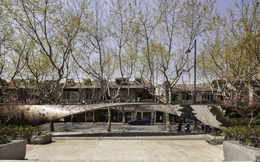 Xintiandi gateway installation by architect firm UNStudio