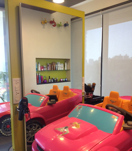 Kidzappy Salon by Aanuu V. Thaakur of Dynamic Designss' Mumbai
