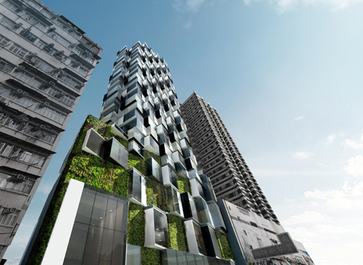 India Art n Design features Mongkok Residence by Aedas