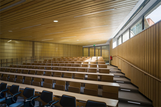 India Art n Design features Secondary School in Le Bourget, France by Hubert & Roy Architects