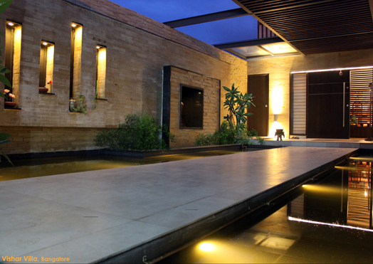 India Art n Design features Vishar Villa by Collage Architecture Studio