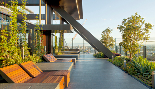 India Art n Design features One Central Park in Sydney by Ar. Jean Nouvel