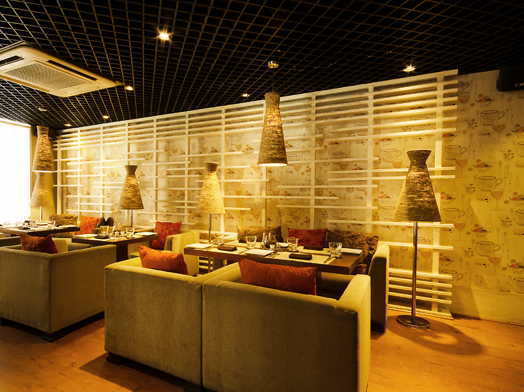 India Art n Design features Ristorante Prego by Ar. Sumeet Nath