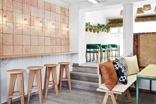 India Art n Design features Vino Veritas Eco Gastro-bar, Oslo by Masquespacio