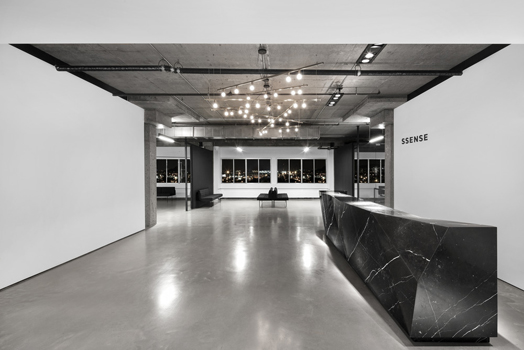 India Art n Design features  digital retail Ssense in Montreal, Canada by Huma Design