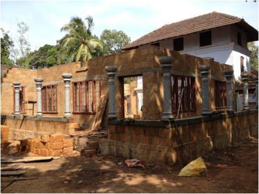 India Art n Design features Madom House restoration by Dr. Harimohan Pillai