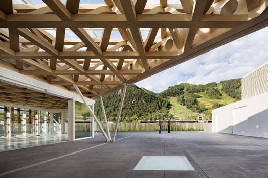 India Art n Design features Aspen Art Museum by Ar. Shigeru Ban