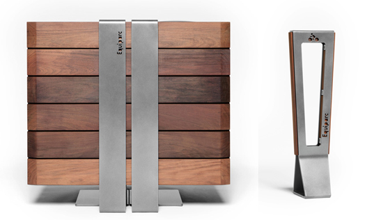 India Art n Design features ALTO street furniture for Equiparc