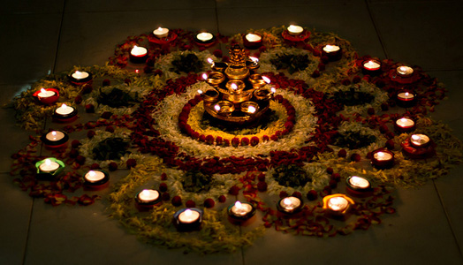 India Art n Design features Diwali Decor