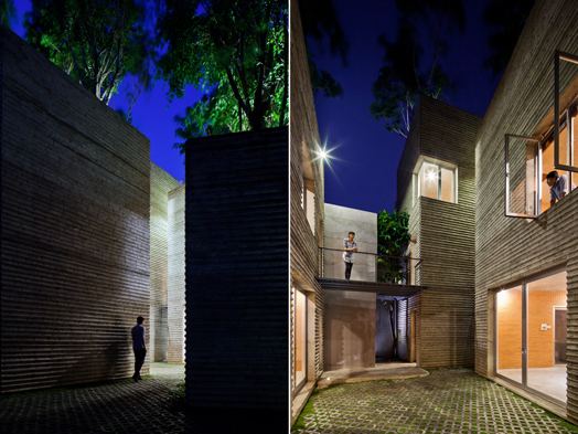 India Art n Design features House for Trees by Vo Trong Nghia Architects, Vietnam