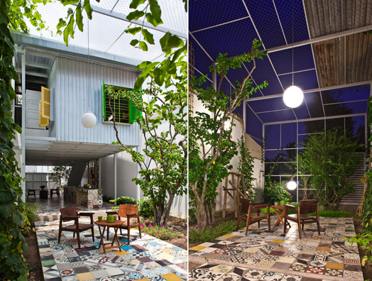 India Art n Design features Vietnam House by a21studio