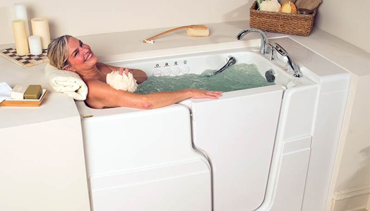 Jacuzzi® Walk-in bathtubs