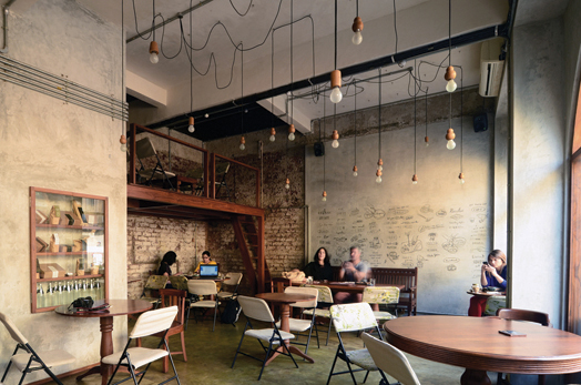 Birdsong Cafe at Bandra, Mumbai by Studio Eight Twentythree