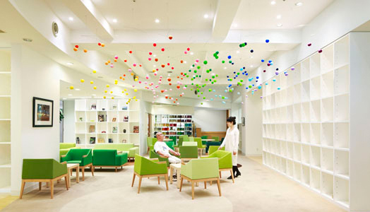 Shinjeun Nursing Home - Dancing Bubbles by Ar. Emmanuelle Moureaux
