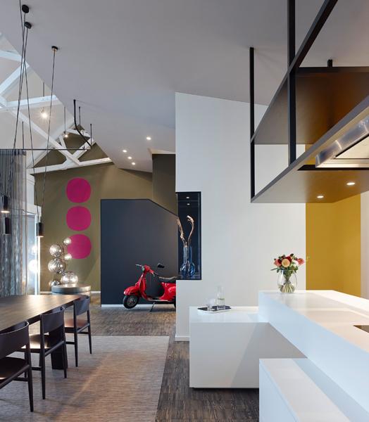 Home in Esslingen by Ippolito Fleitz architects & interior designers