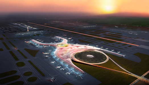 Mexico City's proposed new airport design by Foster+Partners