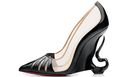 Christian Louboutin's Maleficent-Inspired Heels