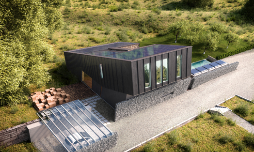 Zero Energy Building pilot project in Norway by Snohetta