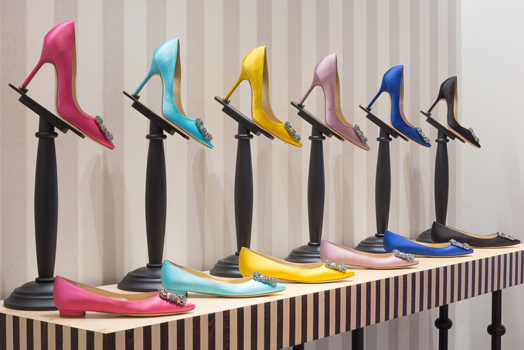 Manolo Blahnik Shoe Salon at Harrods