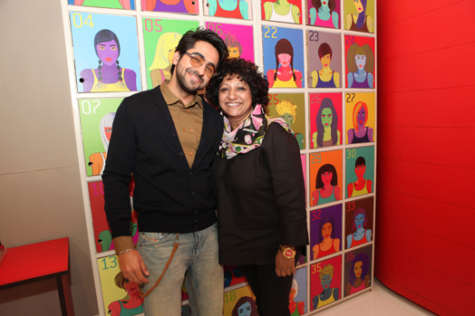 Ambika Pillai with Ayushmann Khurana
