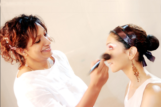 Ambika Pillai with Deepika Padukone