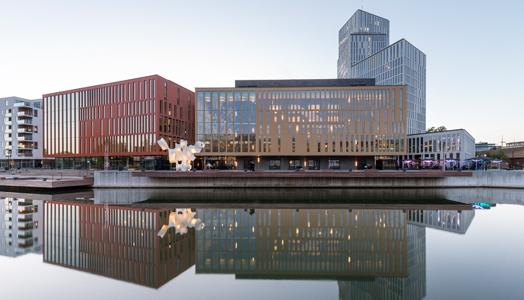 concert hall in Malmö Live, Sweden