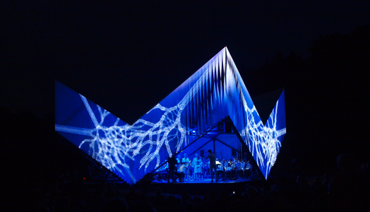 Nature Concert Hall in Latvia