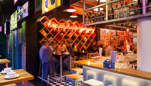 happyhappyjoyjoy restaurant in Amsterdam