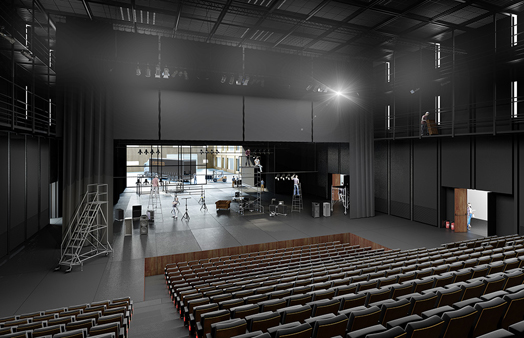 auditorium - maillon theatre, france
