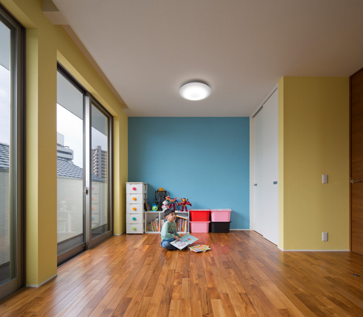 colourful children's room