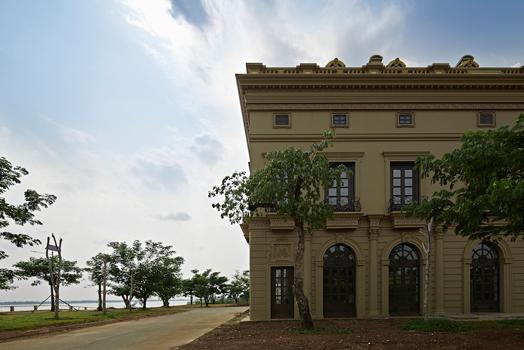 classical European exterior facade