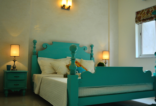 green bedroom furniture