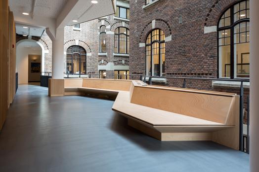interactive corridor space