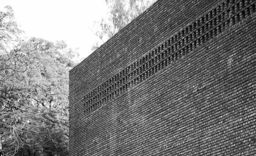 brick jali facade