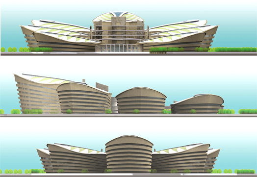elevations of Directorate Complex Guwahati