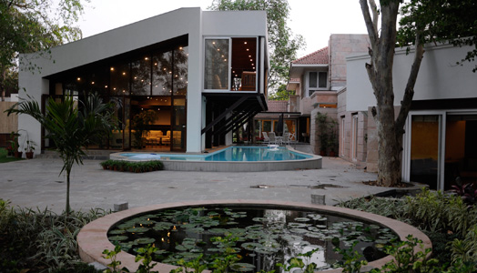 India Art n Design features 3-Tree House by banduksmithstudio, Ahmedabad