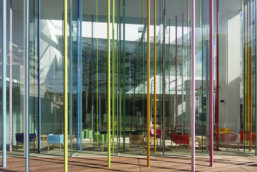 India Art n Design features SugamoShinkin Bank, Tokyo by French designer Emmanuelle Moureaux