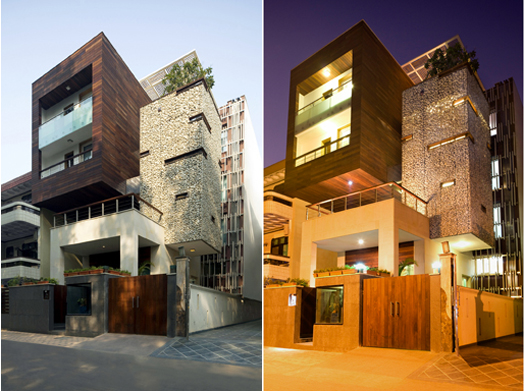 India Art n Design features Kindred House by Anagram Architects